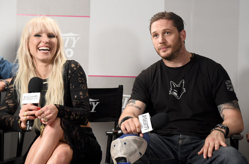 Noomi Rapace and Tom Hardy