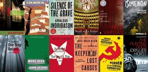 Euro books collage