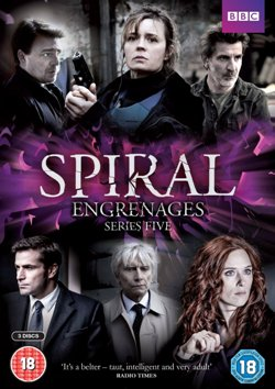 Spiral Season 5 UK DVD
