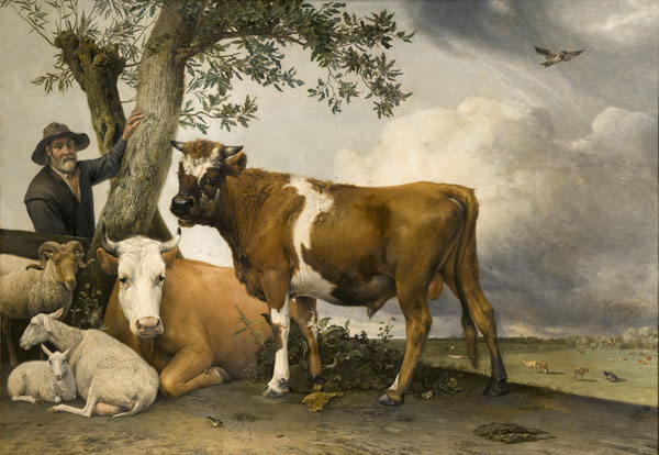 The Bull, 1647, by Paulus Potter