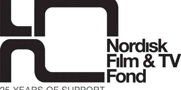 Nordisk Film & TV Fond 25th year logo