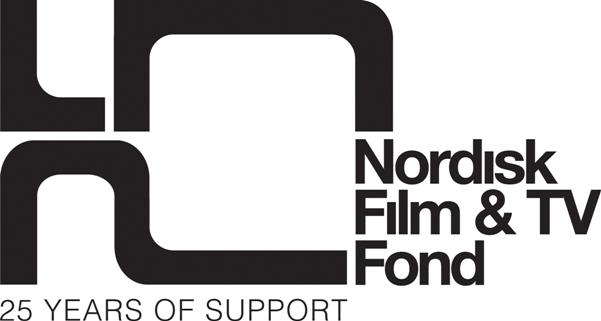 Nordisk Film & TV Fond 25th year logo