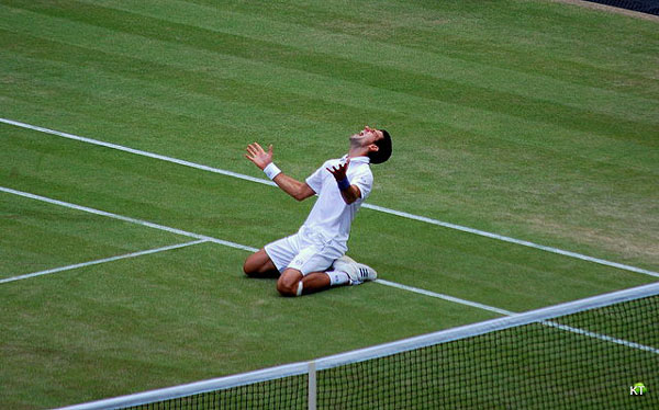Novak Djokovic Wimbledon 2011