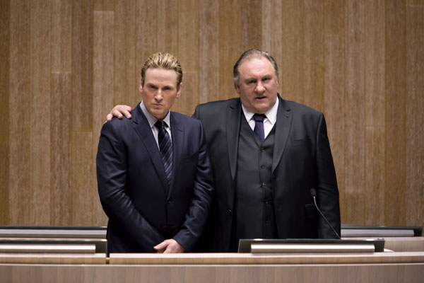 Marseille - Benoît Magimel and Gérard Depardieu