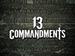 13 Commandments