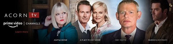 Acorn TV Channel on Amazon
