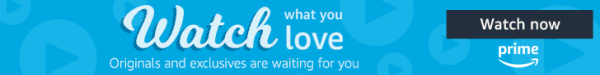 Prime Video - Watch What You Love