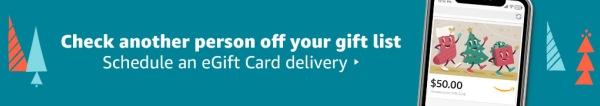 Amazon eGift card delivery